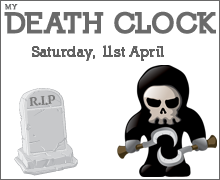 I just got my owne death prediction from the Death Clock