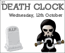 My Death Prediction from The Death Clock