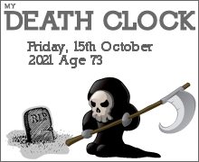 My Death Clock Prediction