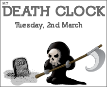 I Got My Death Prediction at The Death Clock