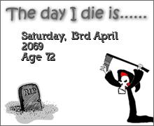 Death Clock - Bạn chết khi nào thế? Makeimg